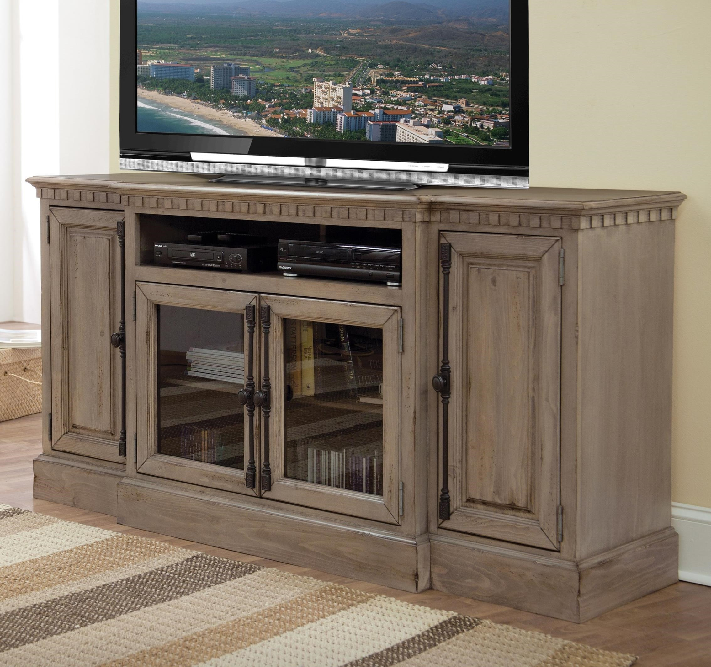 "Andover Court 68"" Console by Progressive Furniture at Catalog Outlet"