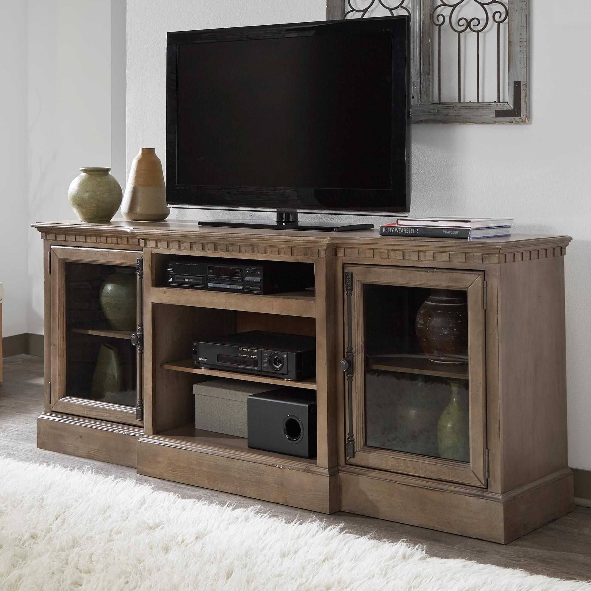 "Andover Court 74"" Console by Progressive Furniture at Simply Home by Lindy's"