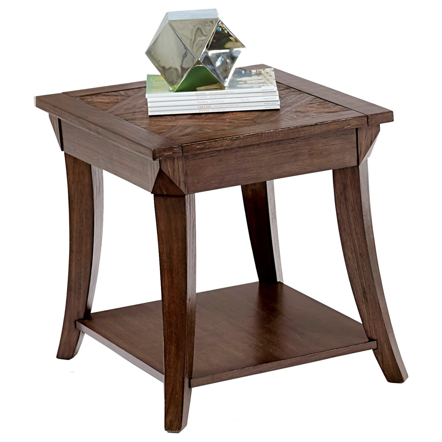 Appeal I Rectangular End Table by Progressive Furniture at Simply Home by Lindy's