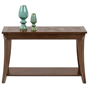 Sofa/Console Table with Parquet Table Top