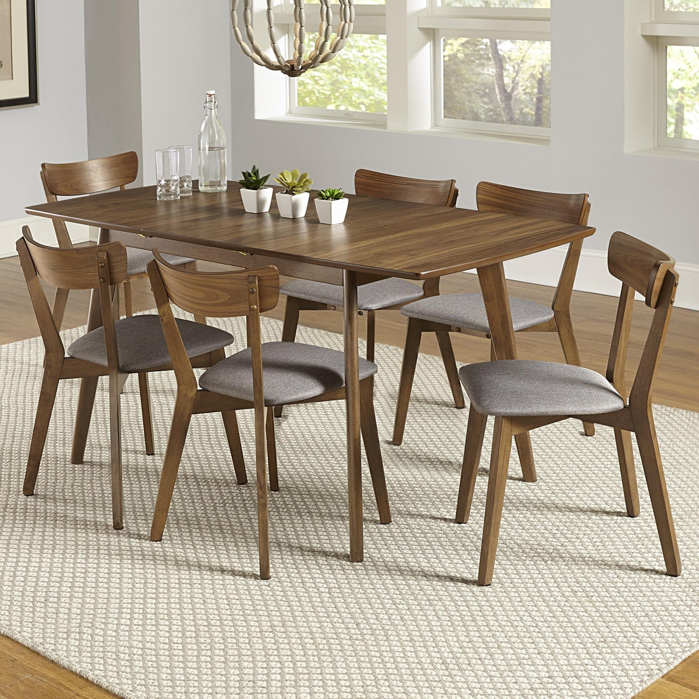 Arcade 7-Piece Butterfly Table Set by Progressive Furniture at Simply Home by Lindy's