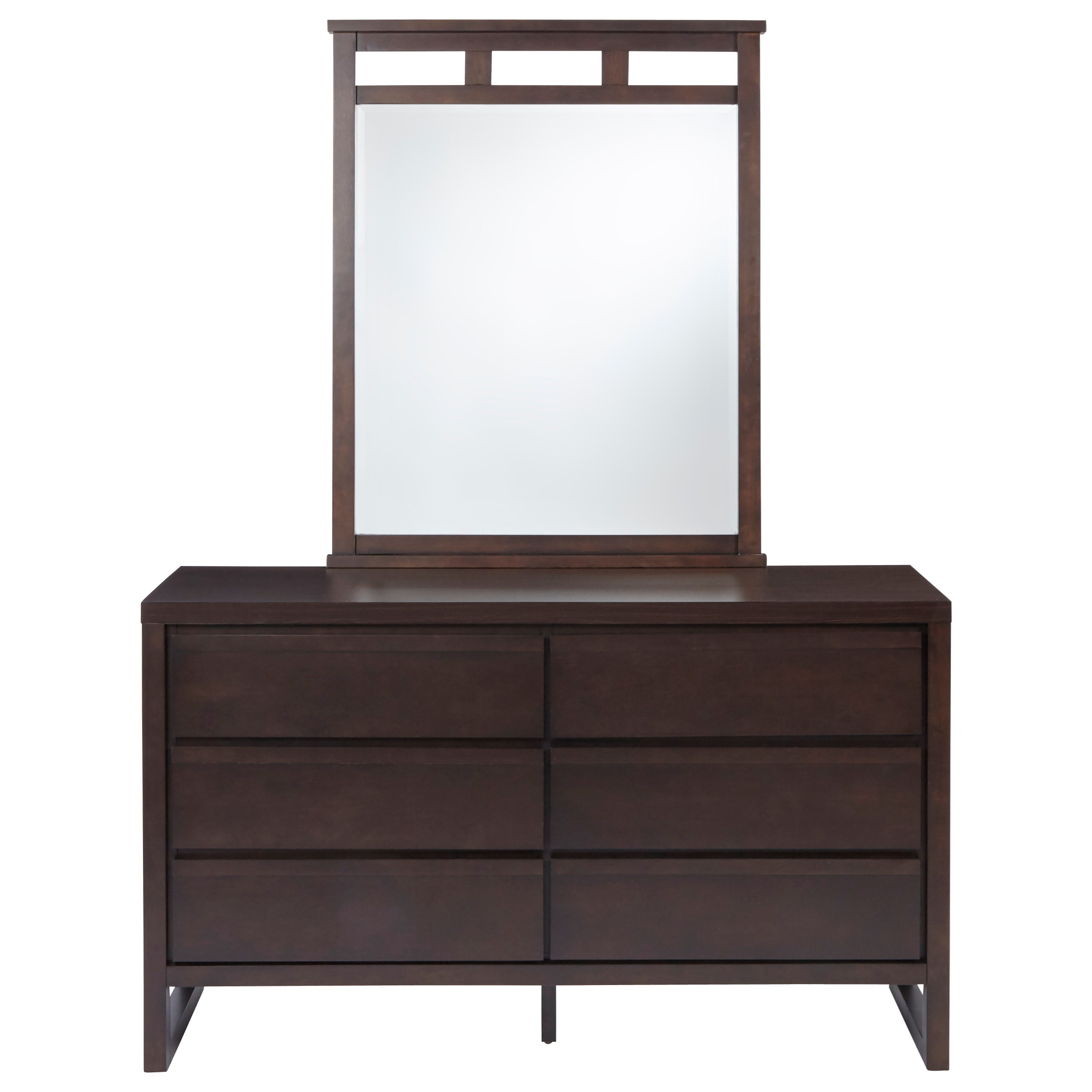 Athena Drawer Dresser and Mirror by Progressive Furniture at Value City Furniture