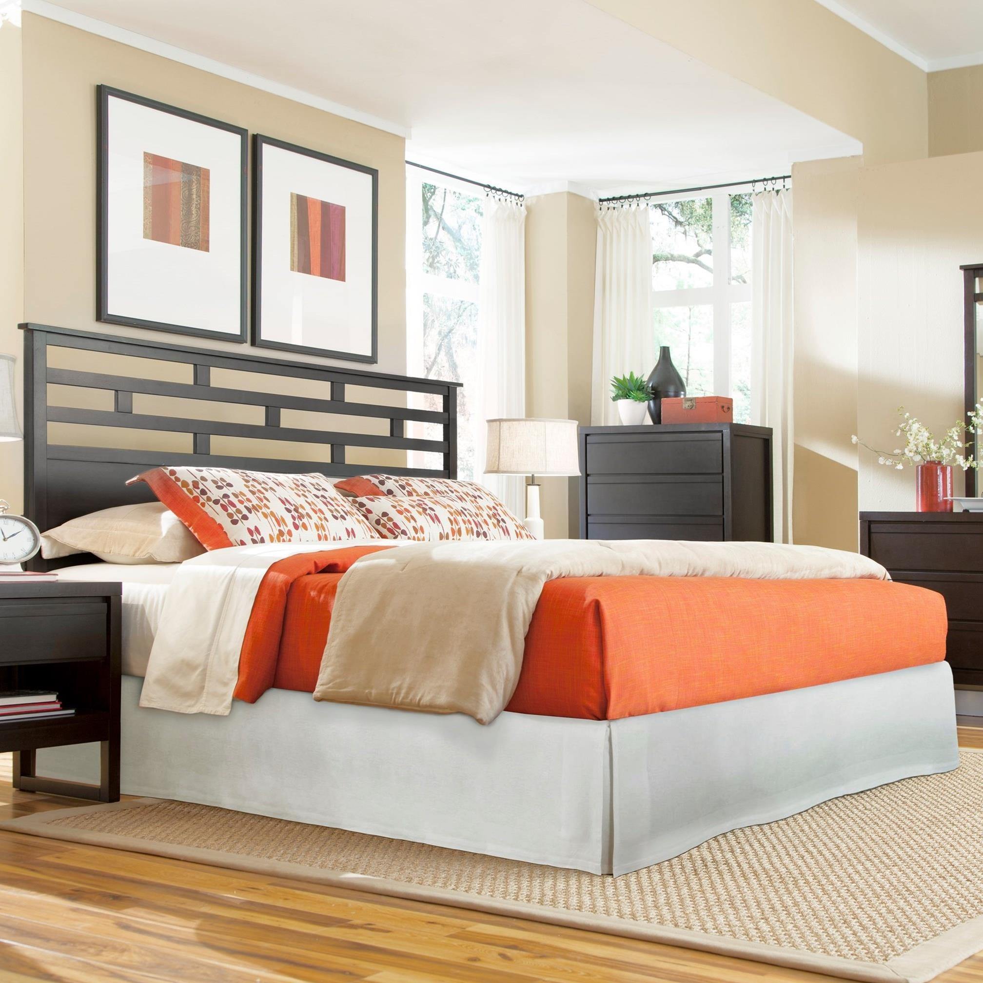 Athena Queen Panel Headboard by Progressive Furniture at Carolina Direct
