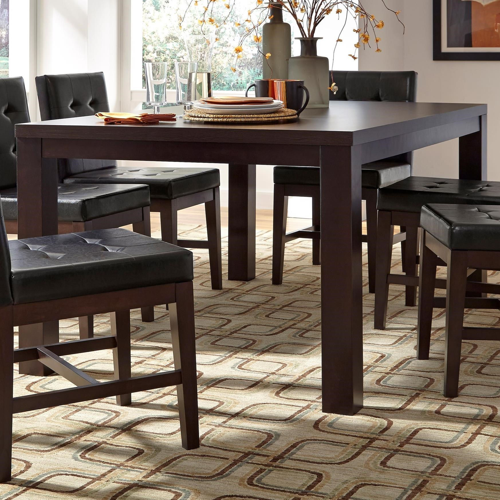 Athena Rectangular Dining Table by Progressive Furniture at Carolina Direct
