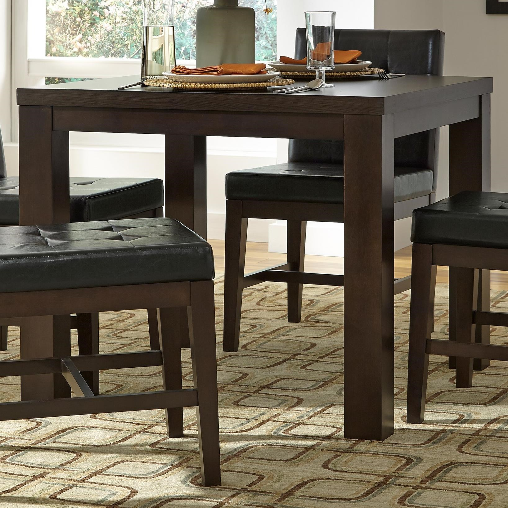 Athena Square Dining Table by Progressive Furniture at Simply Home by Lindy's