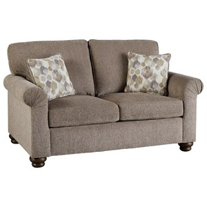 Loveseat with Reversible Cushions