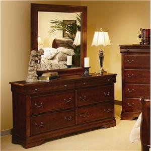 Progressive Furniture Bandera Dresser & Mirror