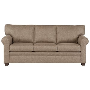 Transitional Sofa in Performance Fabric