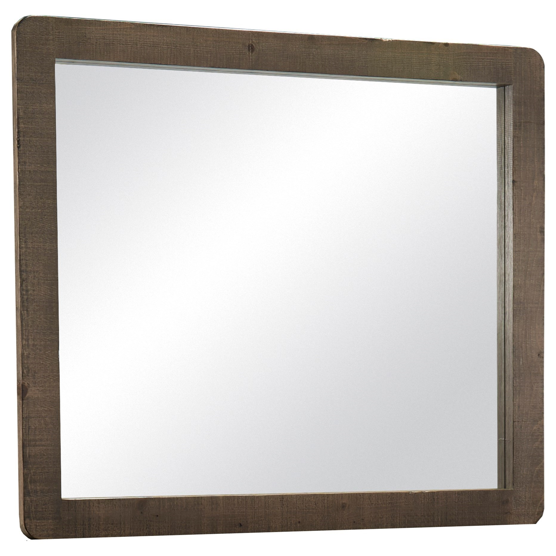Bliss Mocha Mirror by Progressive Furniture at Van Hill Furniture