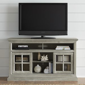 "54"" Entertainment Console with Wire Management"