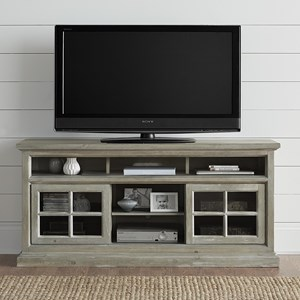 "64"" Entertainment Console with Wire Management"