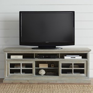 """74"""" Entertainment Console with Wire Management"""