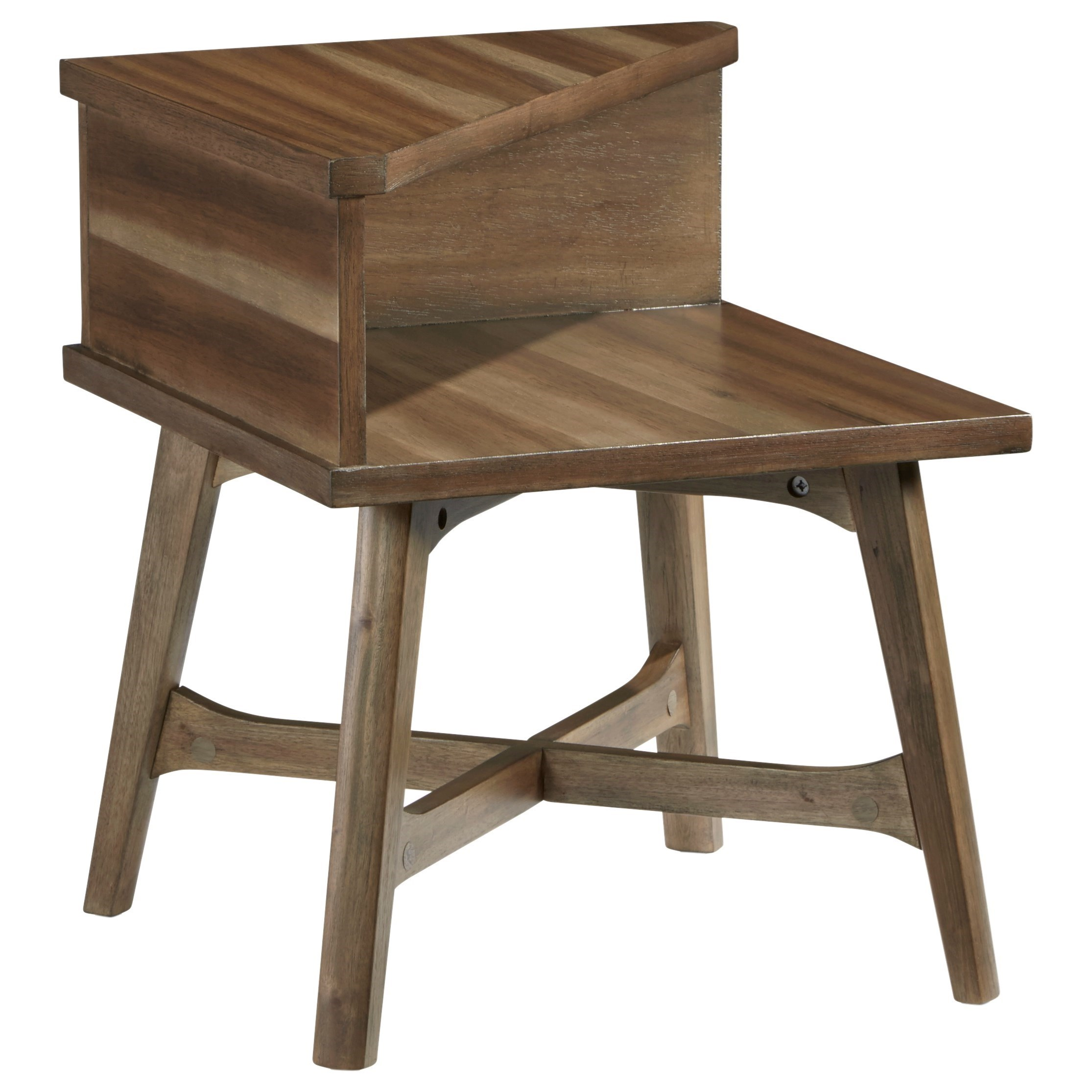 Bungalow Chairside Table by Progressive Furniture at Catalog Outlet