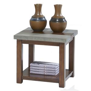 Progressive Furniture Cascade Square Lamp Table