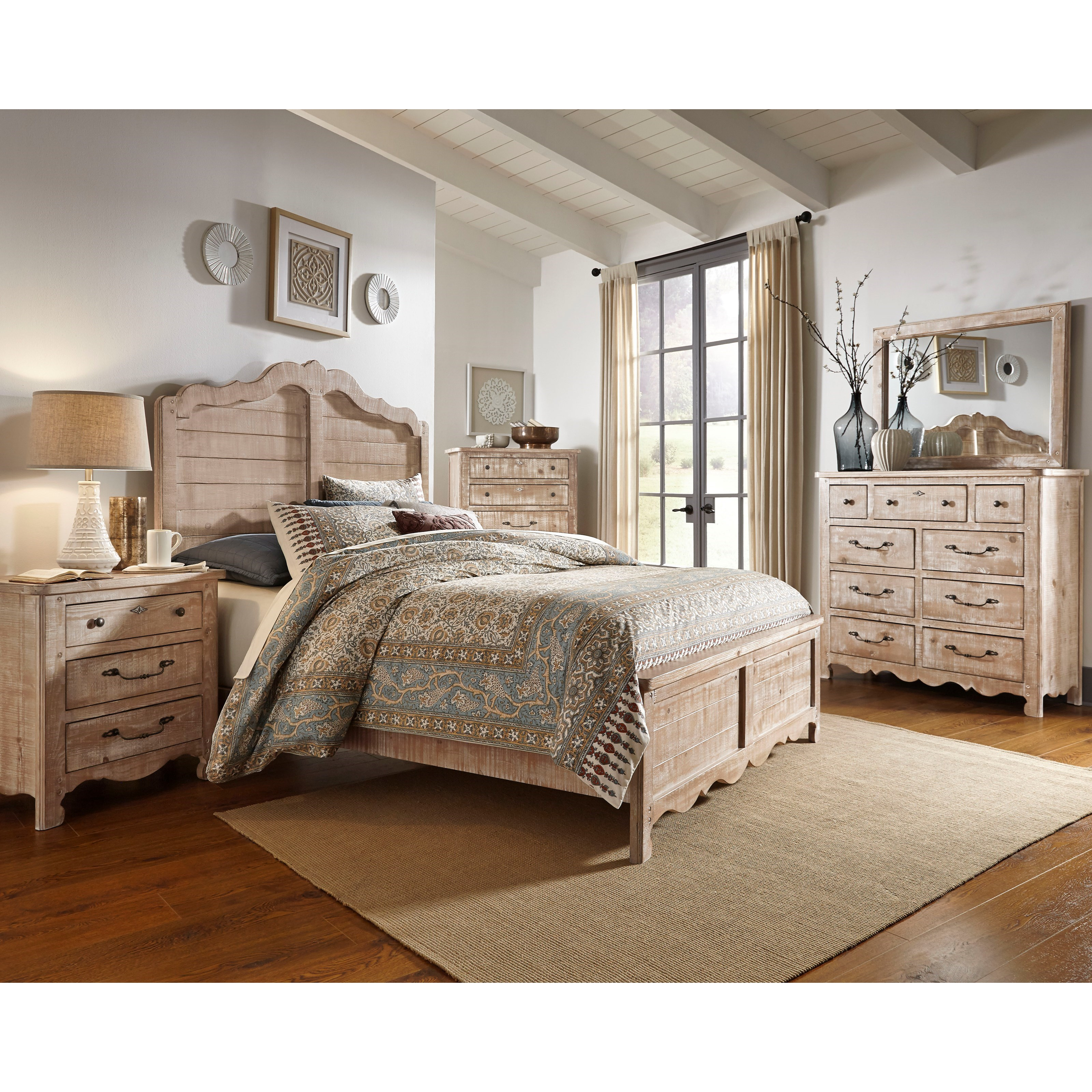 Chatsworth Queen Bedroom Group by Progressive Furniture at Catalog Outlet