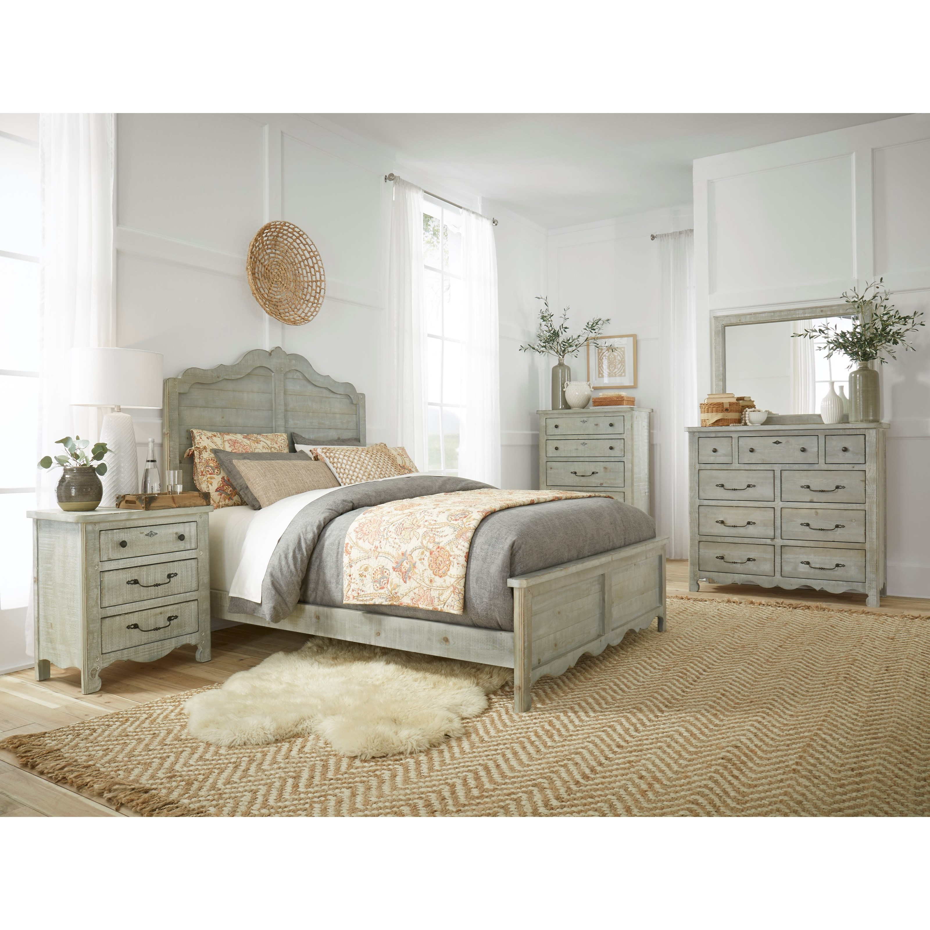 Chatsworth 7PC Queen Bedroom Group by Progressive Furniture at Value City Furniture