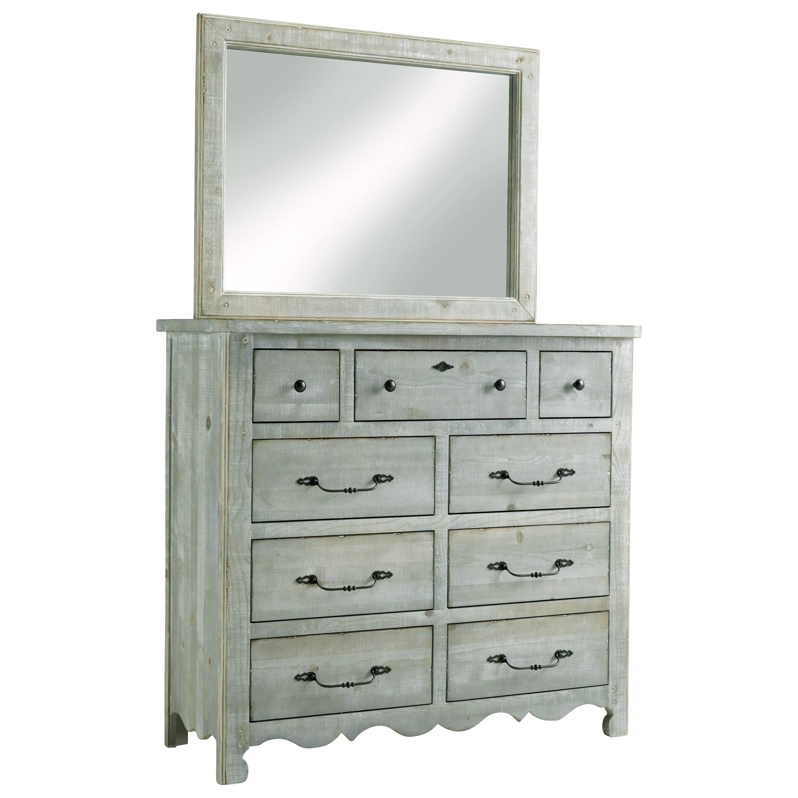 Chatsworth Drawer Dresser & Mirror by Progressive Furniture at Value City Furniture