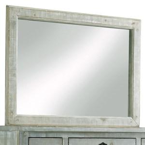 Cottage Distressed Pine Dresser Mirror