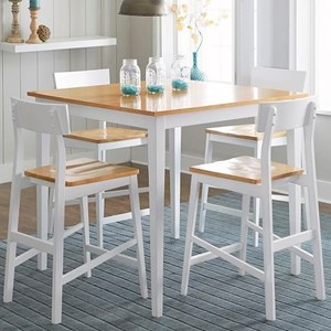 5 Piece Counter Chair & Counter Table Set