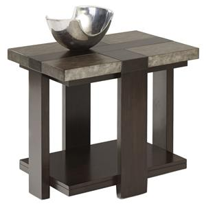 Contemporary Chairside Table
