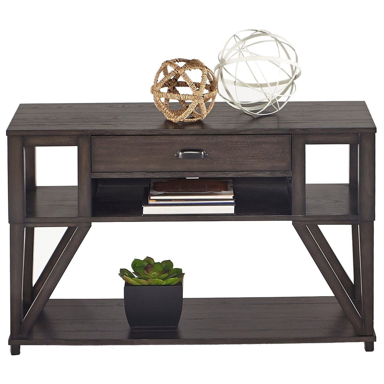 Consort Sofa/Console Table by Progressive Furniture at Darvin Furniture