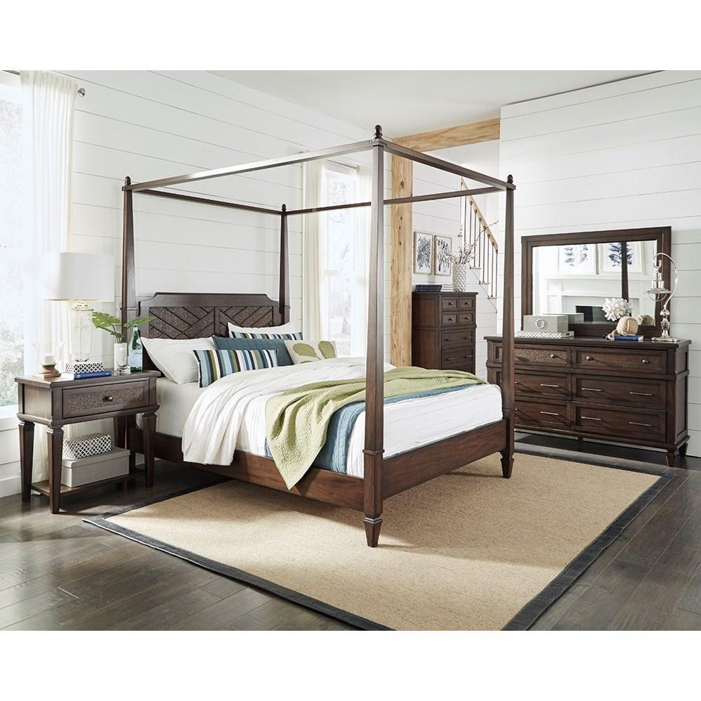 Coronado California King Bedroom Group by Progressive Furniture at Van Hill Furniture