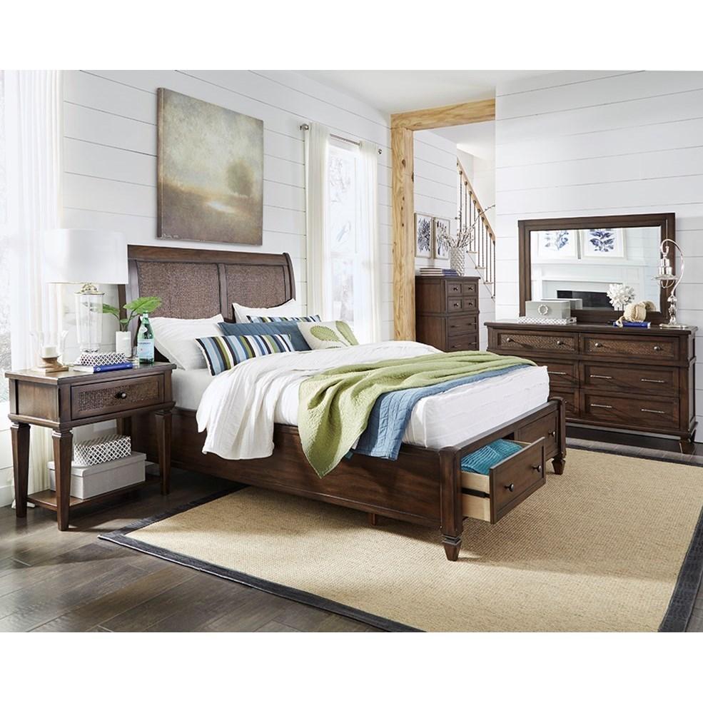 Coronado King Bedroom Group by Progressive Furniture at Corner Furniture