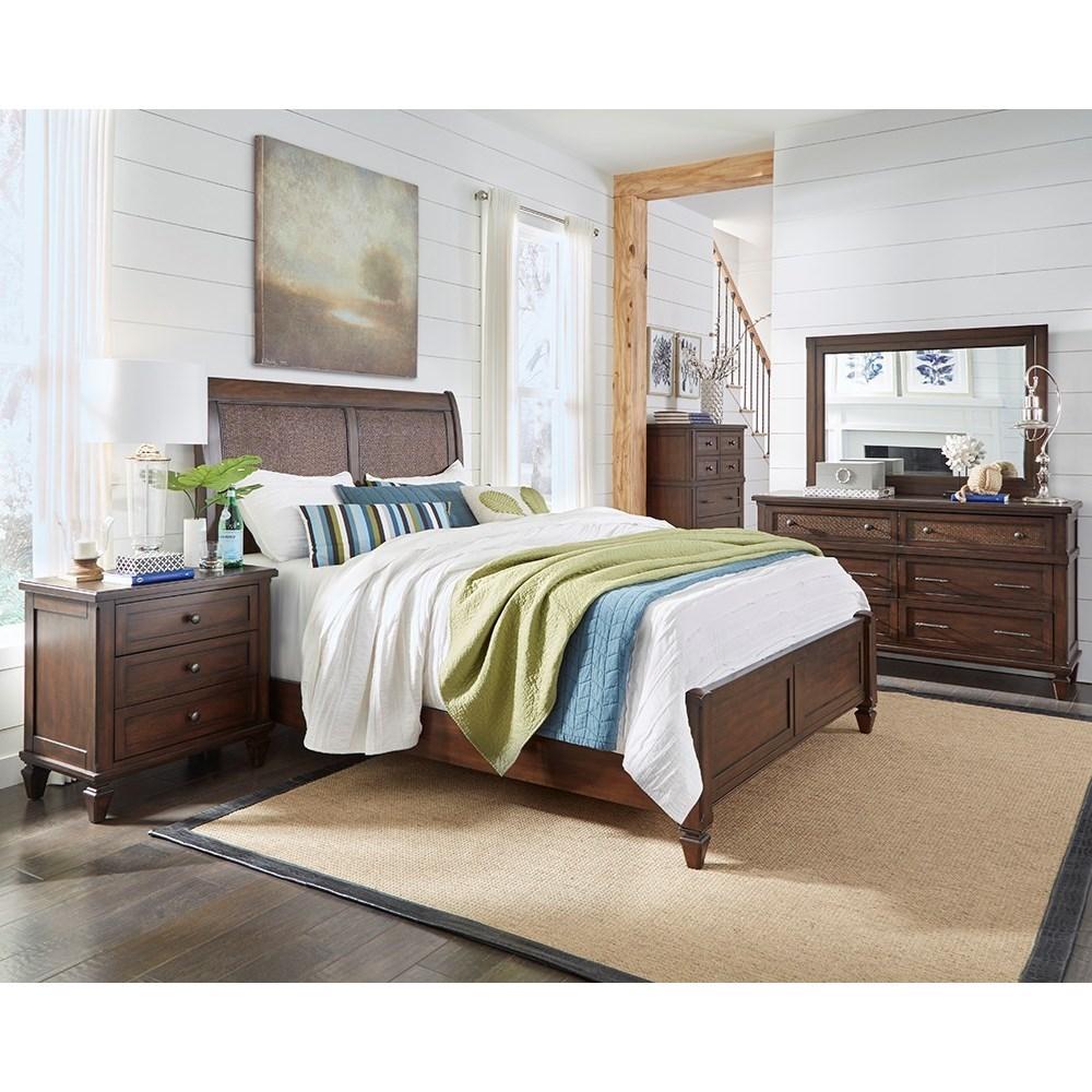 Coronado Queen Bedroom Group by Progressive Furniture at Van Hill Furniture
