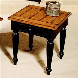Progressive Furniture Country Vista End Table