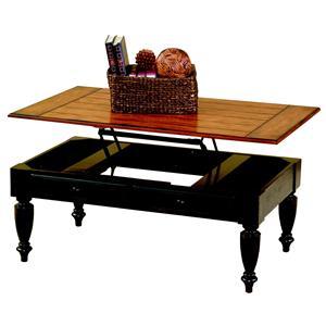 Progressive Furniture Country Vista Lift-Top Cocktail Table