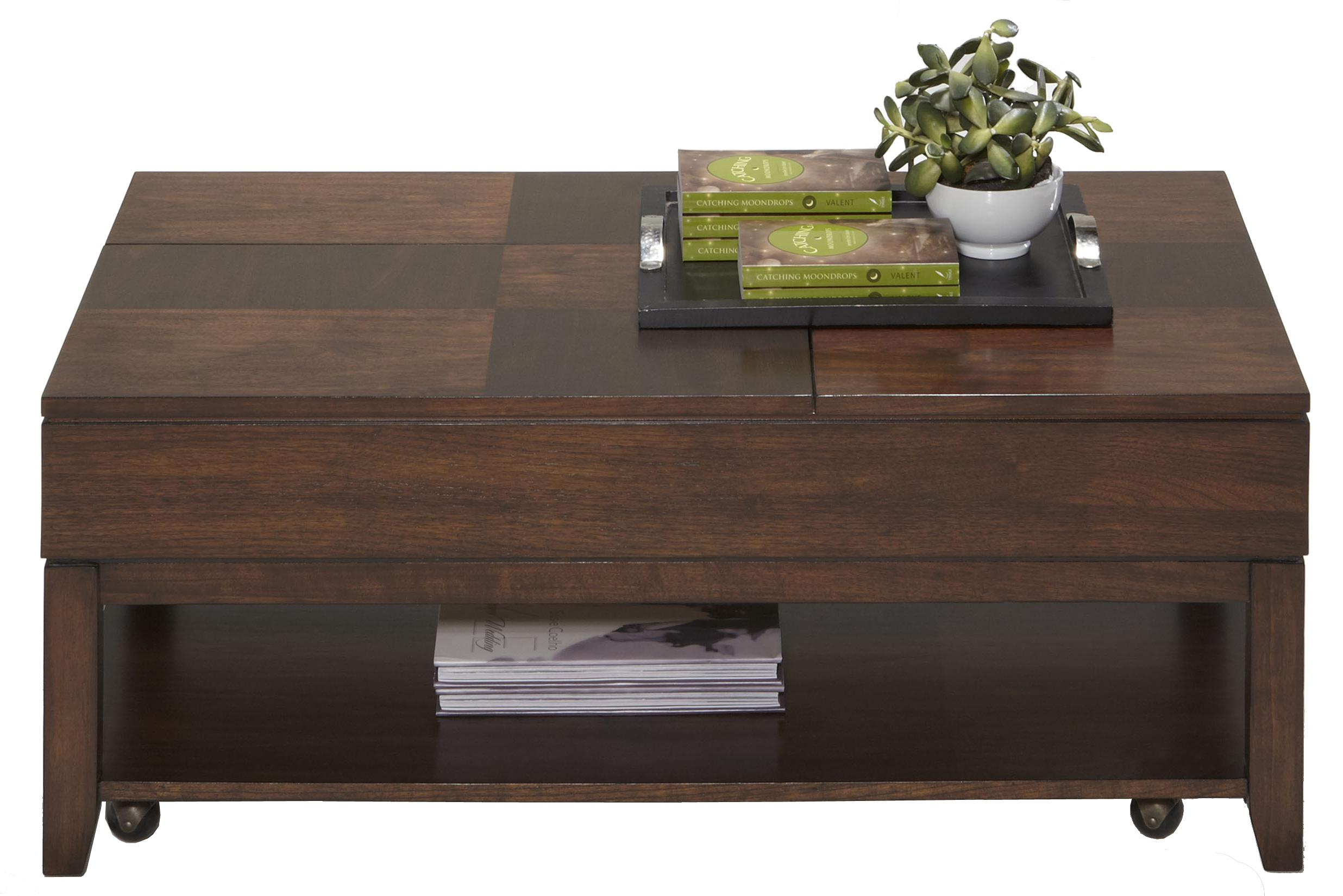 Daytona Double Lift Top Cocktail Table by Progressive Furniture at Value City Furniture