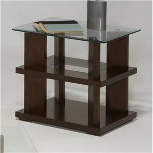 Progressive Furniture Delfino Rectangular End Table