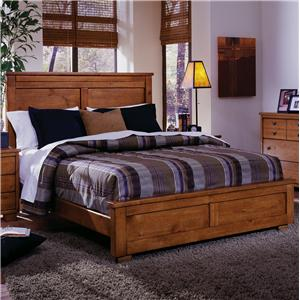Progressive Furniture Diego Queen Panel Bed
