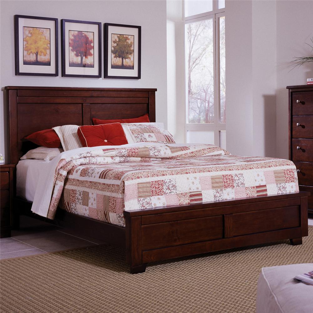Diego Full Panel Bed by Progressive Furniture at Carolina Direct
