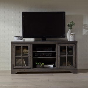 Traditional 66 Inch Console