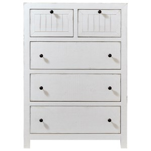Relaxed Vintage Chest of Drawers