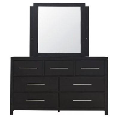 Foxfire Dresser & Mirror by Progressive Furniture at Van Hill Furniture