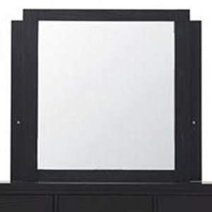 Contemporary Mirror with LED Lighting