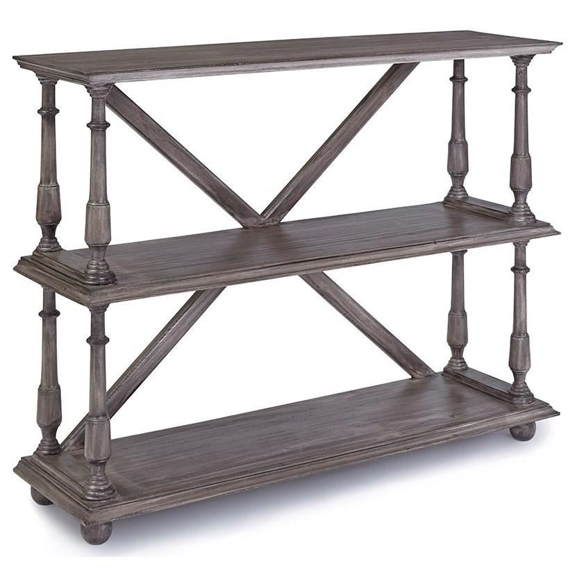Gabriella Bookcase by Progressive Furniture at Carolina Direct