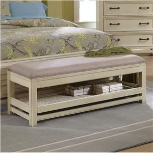 Progressive Furniture Haven Bedroom Bench