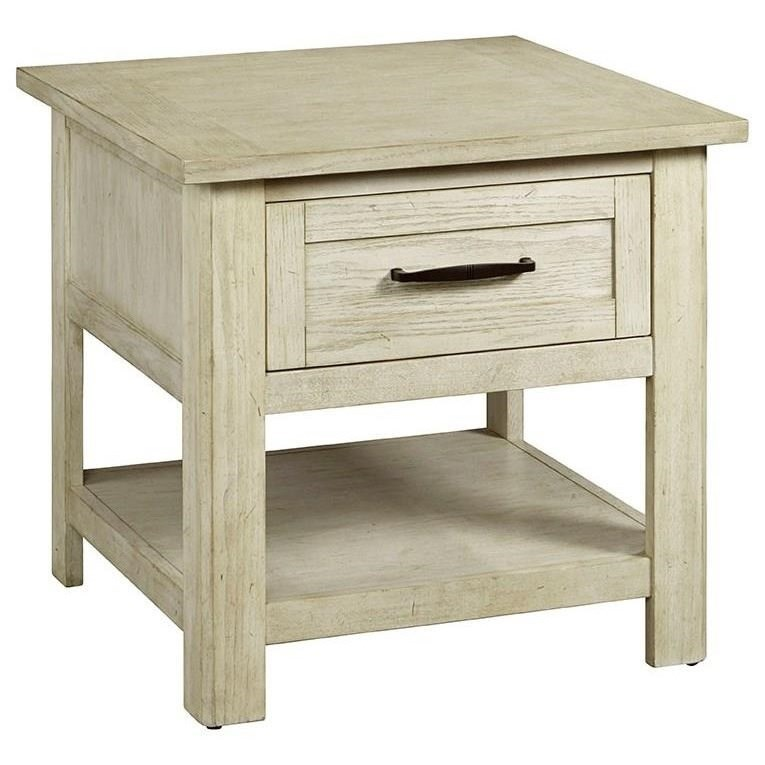 Hillsboro Village End Table by Progressive Furniture at Simply Home by Lindy's