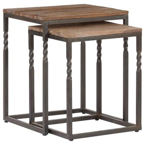 Industrial Nesting Tables Set