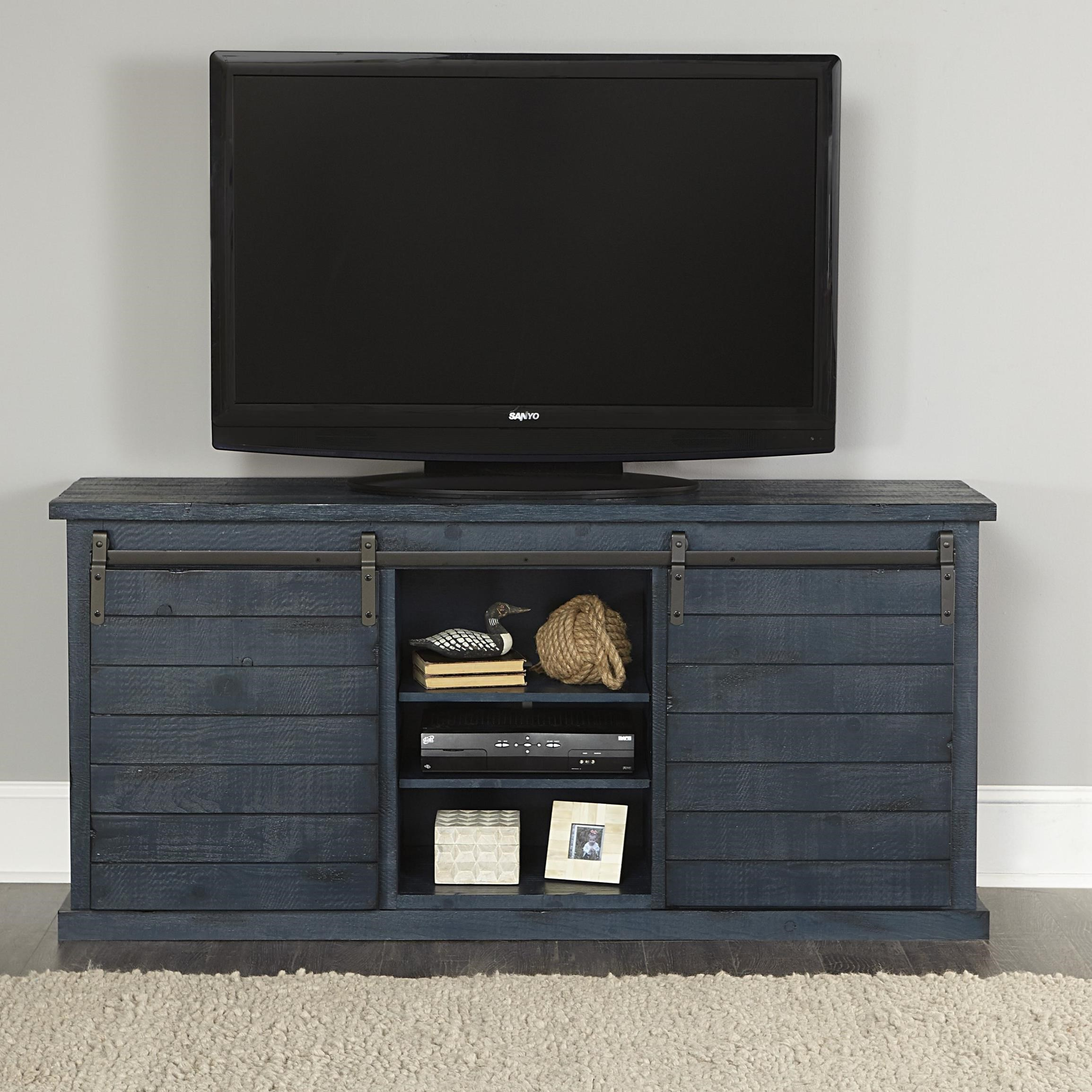 Huntington Entertainment Console by Progressive Furniture at Catalog Outlet