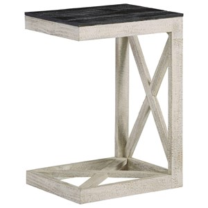 Modern Rustic C End Table