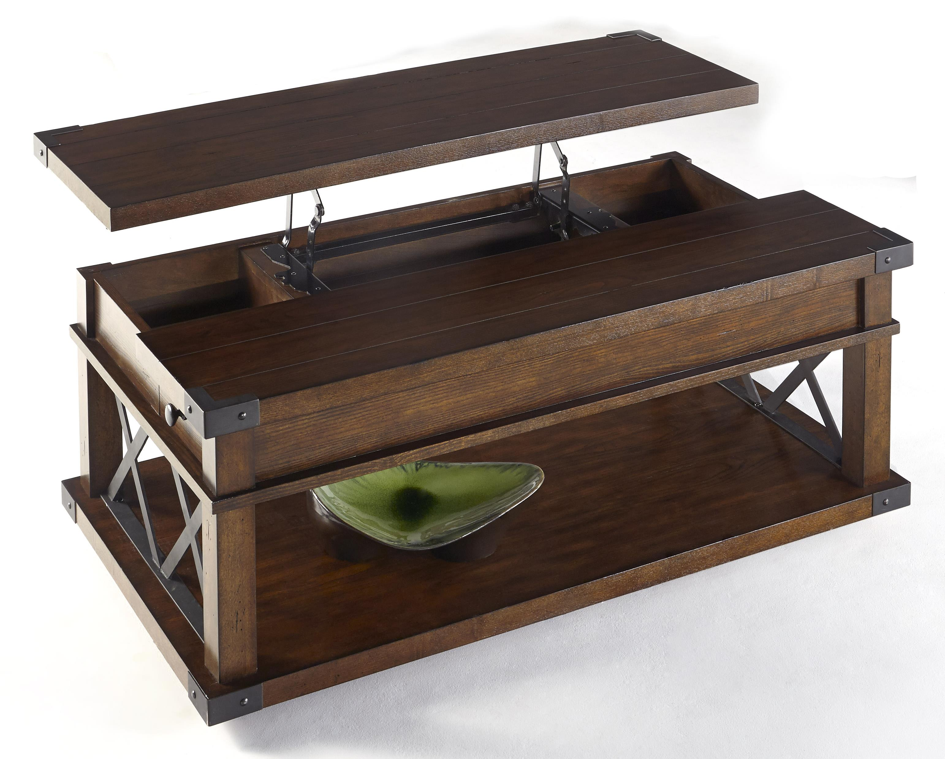 Landmark Castered Lift-Top Cocktail Table by Progressive Furniture at Darvin Furniture