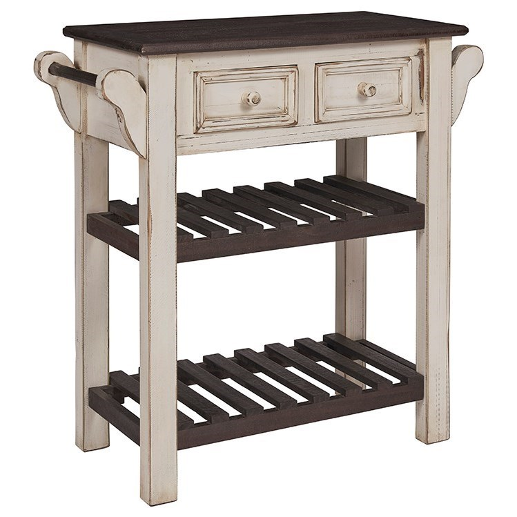 Madelyn Kitchen Island by Progressive Furniture at Catalog Outlet