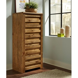 Rustic Lingerie Chest with Paneled Case Front