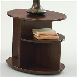 Progressive Furniture Metropolitan  Oval End Table