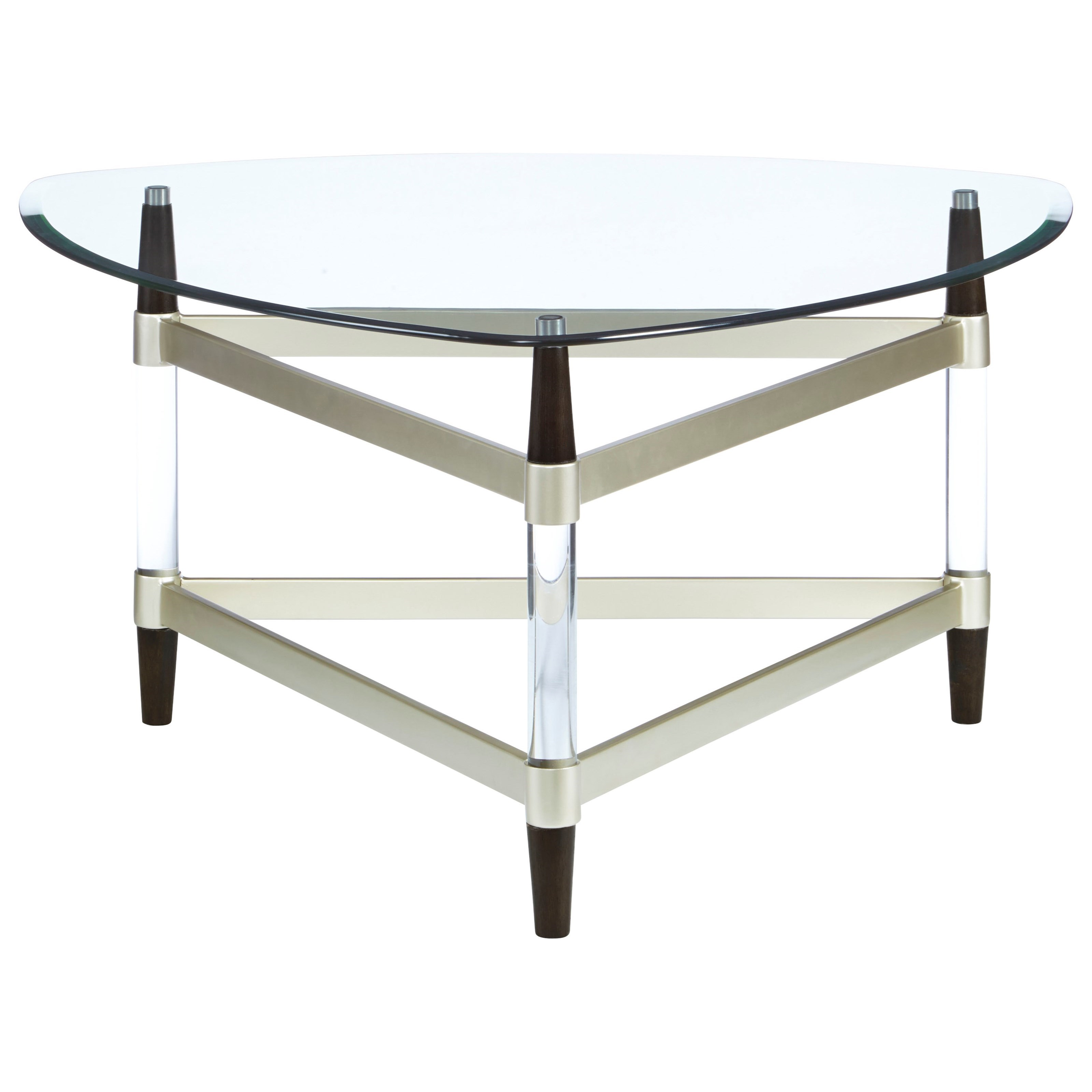 Michigan Ave Cocktail Table by Progressive Furniture at Catalog Outlet