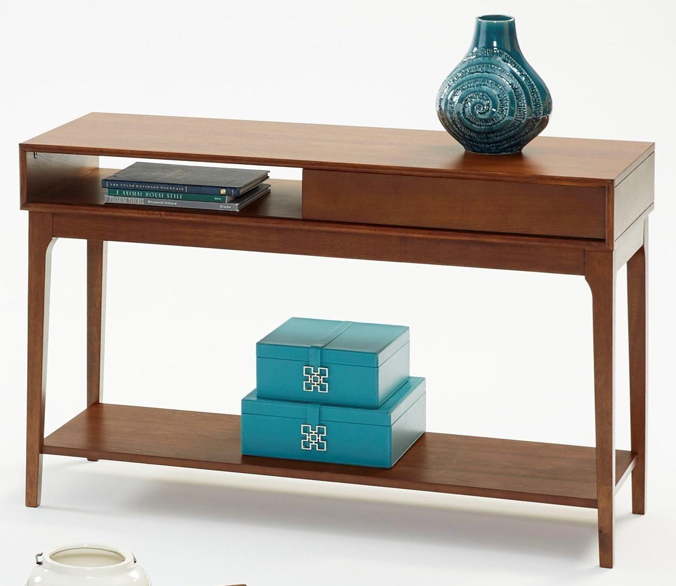 Mid-Mod Sofa Table by Progressive Furniture at Carolina Direct